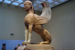 ナクソスの有翼のスフィンクス