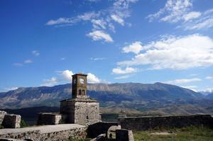 お城の時計台