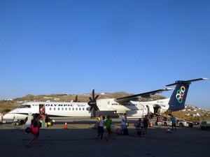 オリンピック航空DHC-8-400