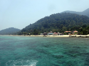 Gentingの海もきれい!