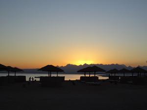 ソマベイの夕陽