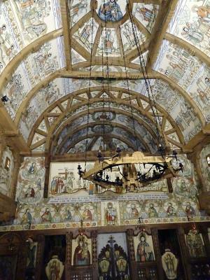 バルサナ修道院の教会内部