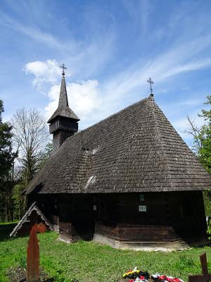 ブレブの木造教会