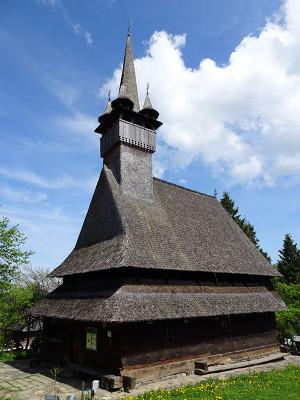 世界遺産ブデシュティの木造教会