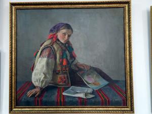 民族博物館展示の絵
