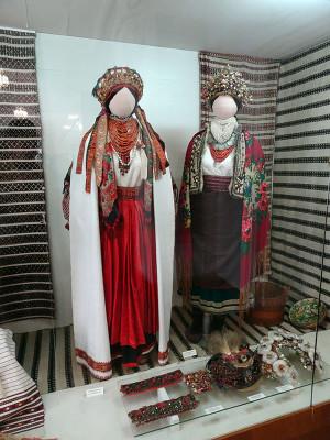 民族博物館展示の民族衣装