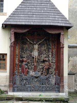 アルメニア教会「木彫りのキリスト受難のレリーフ」