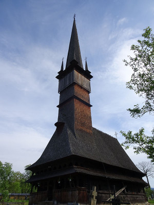 世界遺産スルデシュティの木造教会