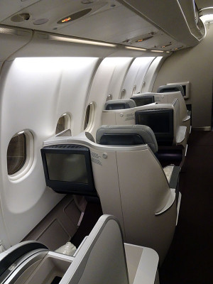 マレーシア航空最新A330シート