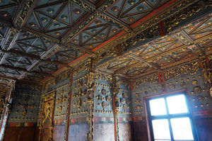 ホーエンザルツブルク城の天井