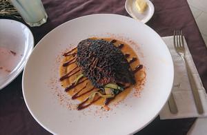 タリマンドで調理した魚料理