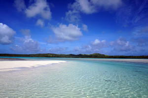 アイツタキの美しい海