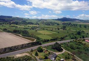 ロトルアのニュージーランドらしい風景