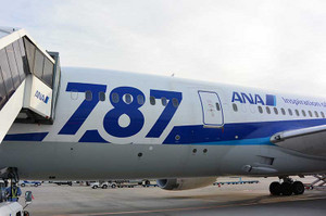 ANA787-8機
