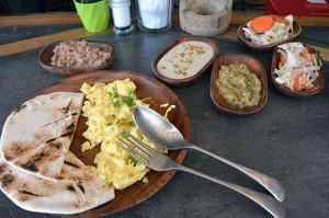 エルニドで食べた朝食