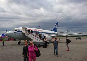 べラヴィア航空737-500機