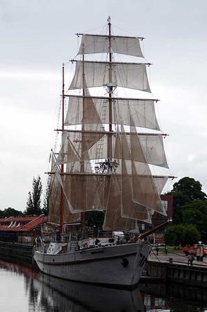 クライペダの帆船