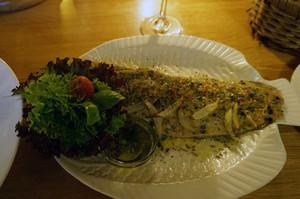 この魚料理が絶品