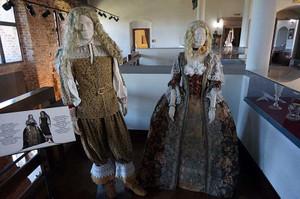 ミール城内の展示衣装