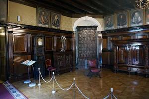 ネスヴィジ城の部屋