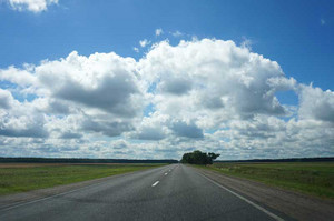 ベラルーシの広大な景色