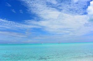 透明度が高いマティラビーチ