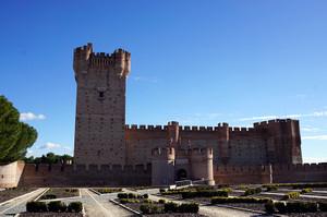 カスティーリャらしいモタ城