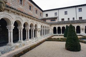 ウエルガス修道院の中庭