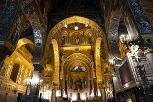 ノルマン王宮にあるパラティーナ礼拝堂