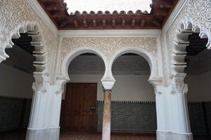 サンタクララ修道院のパティオ
