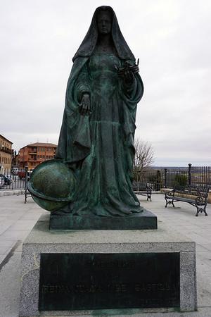 ファナの銅像