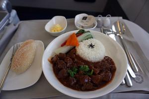フィジーエアウェイズ機内食