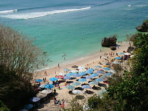 Labuan Saitビーチ
