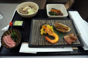 マレーシア航空の和食