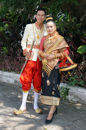 タイ風な感じの服装