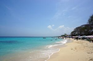 プラヤ・ブランカの美しいビーチ
