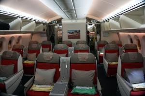 エチオピア航空のB787-8機内