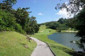ルメリアリゾートゴルフ場の横からアクセス